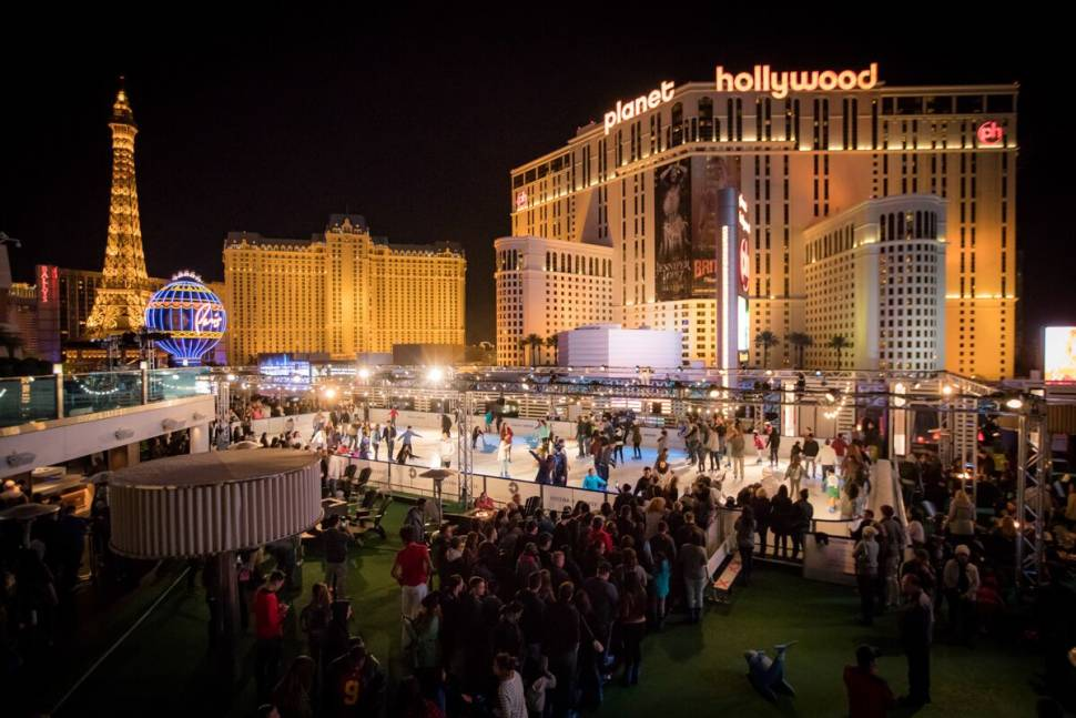 Best time to see Ice Rink at the Cosmopolitan in Las Vegas