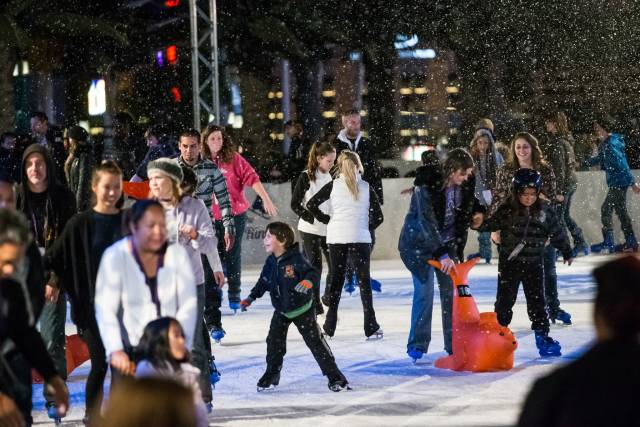 Best time for Ice Rink at the Cosmopolitan in Las Vegas