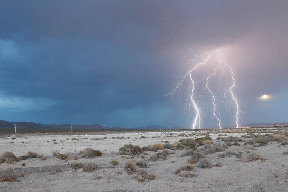 Best time for Monsoon Season in Las Vegas