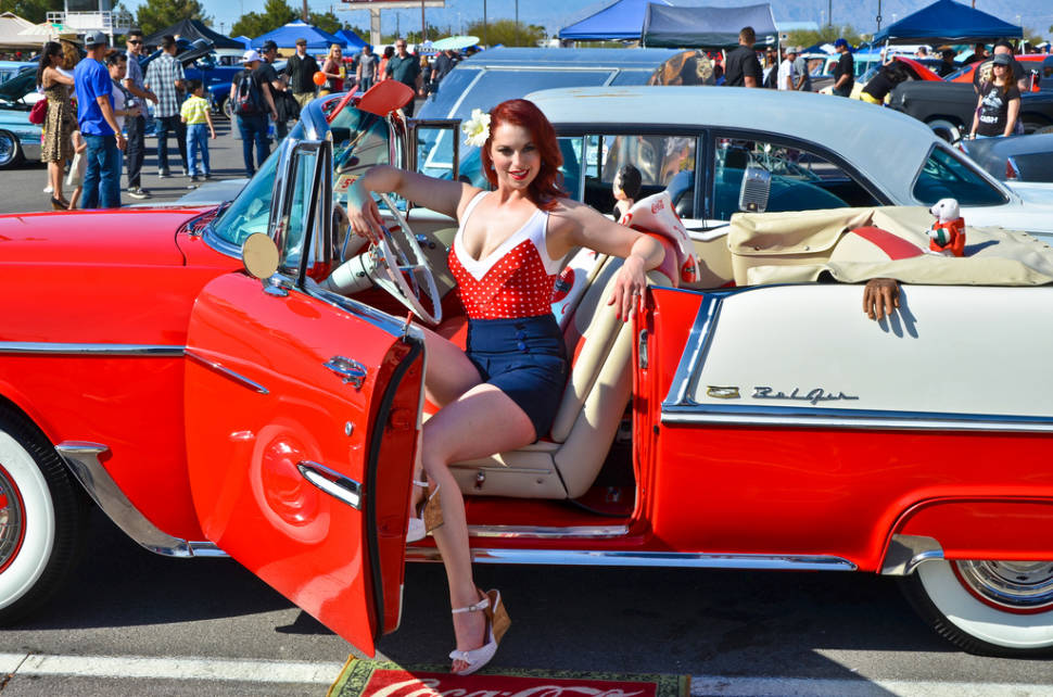 Viva Las Vegas Rockabilly Weekend Dates Map - Vegas rockabilly car show