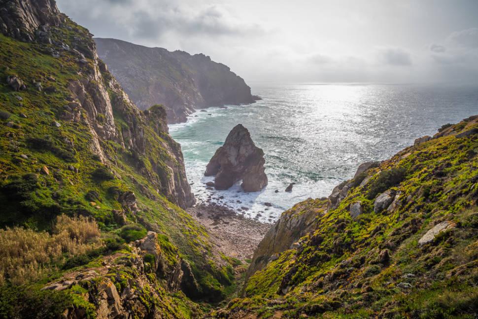 Landscape around Cabo da Roca