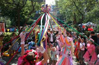 Covent Garden May Fayre and Puppet Festival