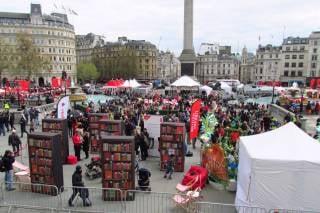 Feast of St George in Trafalgar Square