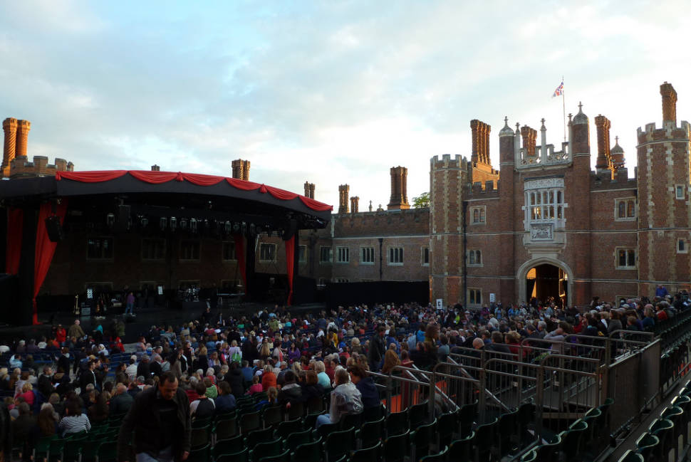 Best time for Hampton Court Palace Festival in London
