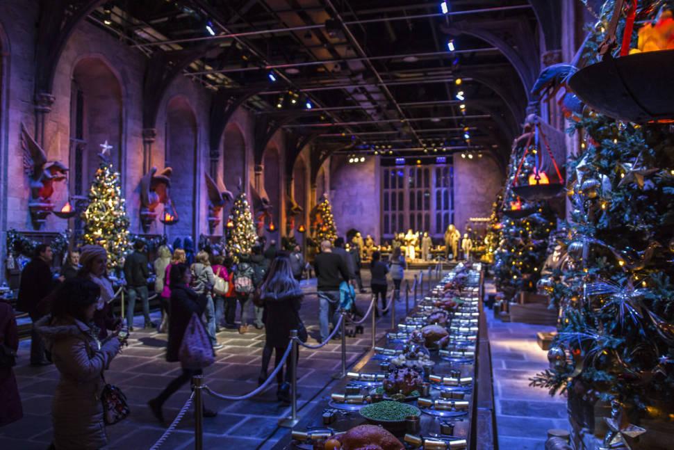 Hogwarts in the Snow in London - Best Season