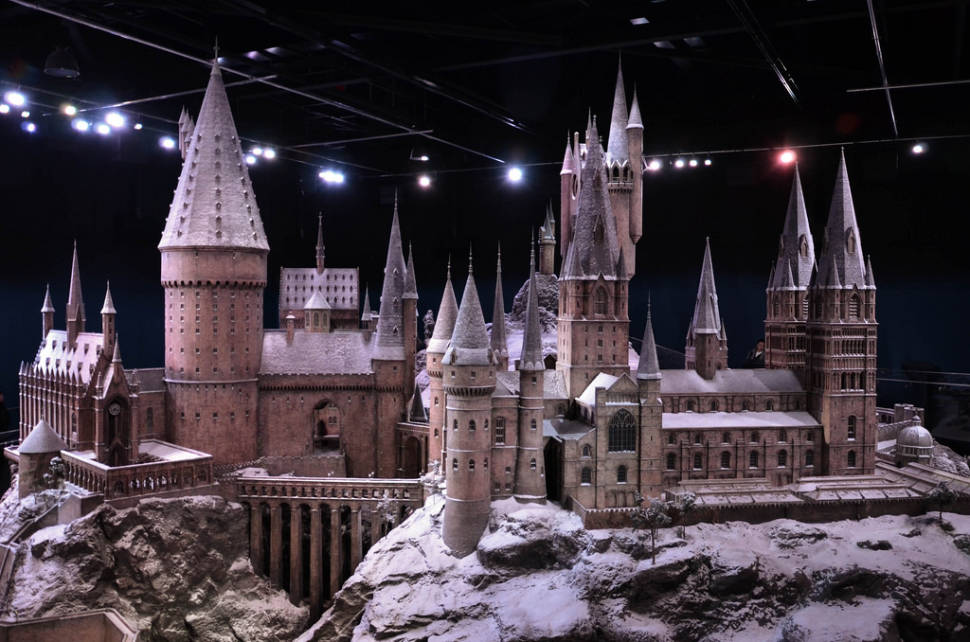 Hogwarts in the Snow in London - Best Time