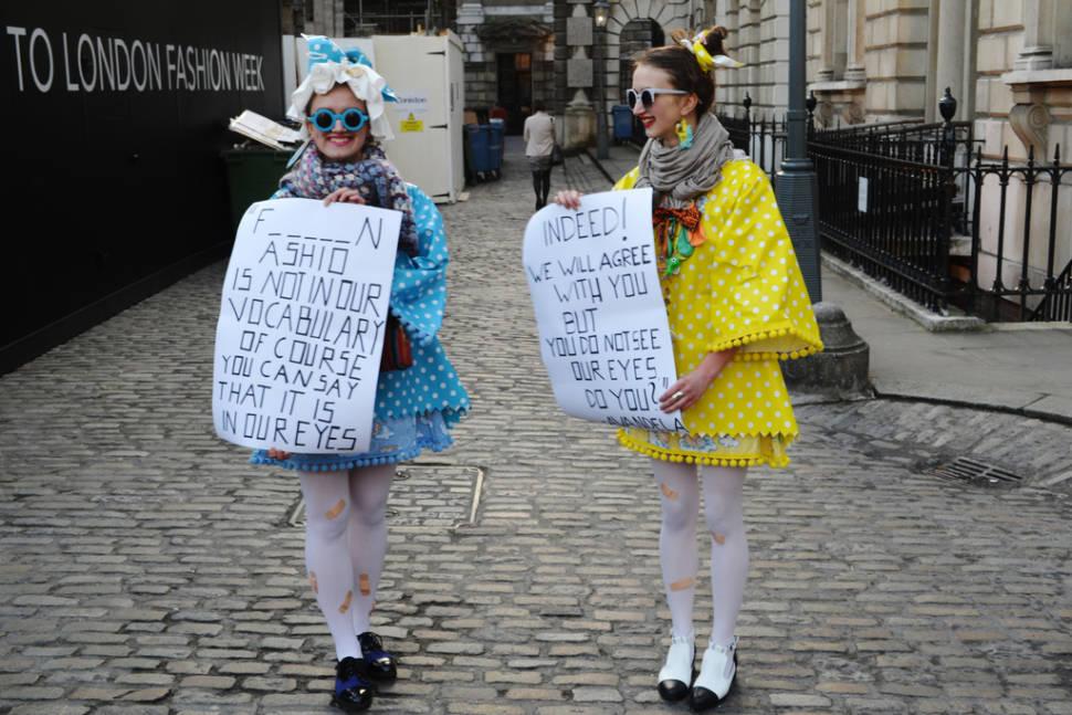 London Fashion Week in London - Best Season