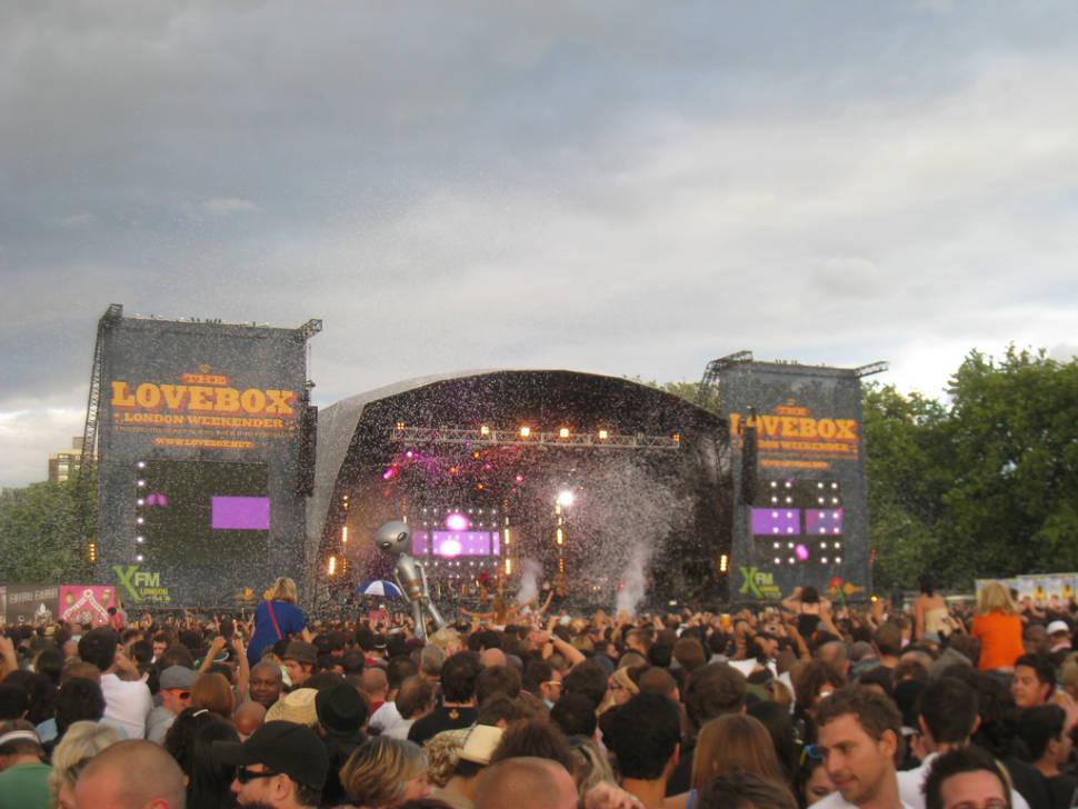 Best time for Lovebox Festival in London