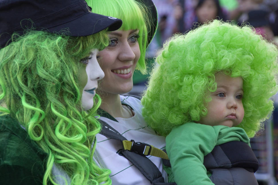 Best time for St Patrick's Day Parade in London