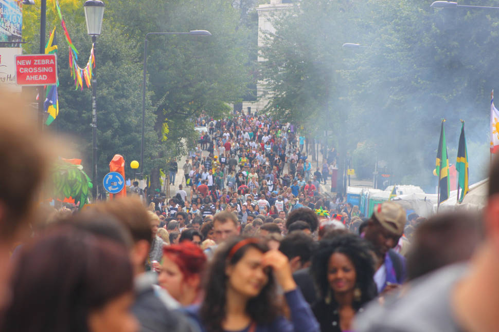 Best time to see Notting Hill Carnival in London