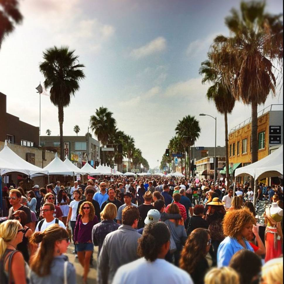 Abbot Kinney Festival in Los Angeles - Best Time