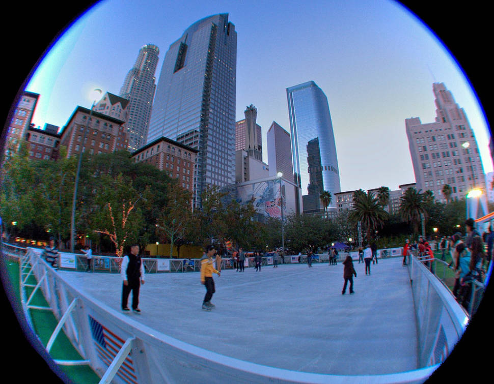 Ice Skating  in Los Angeles - Best Time