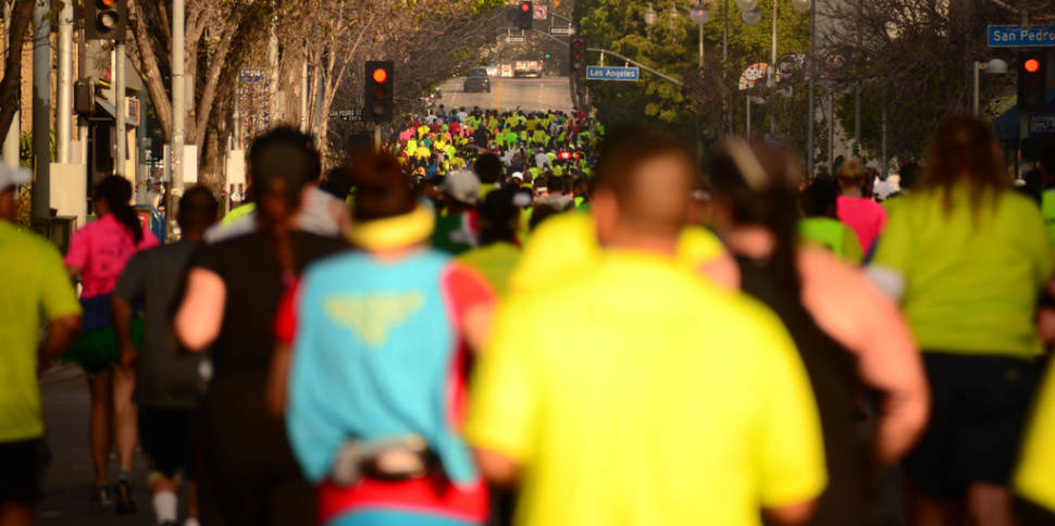 Best time for Los Angeles Marathon in Los Angeles