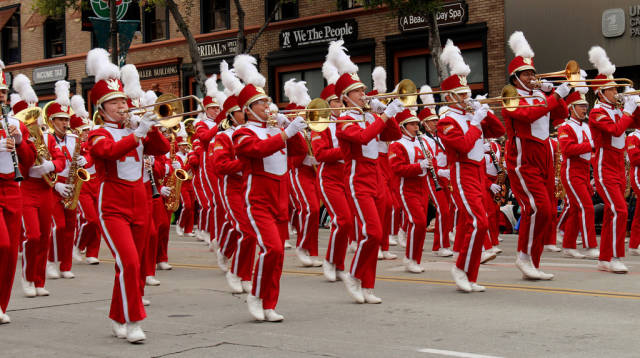 Best time for Rose Parade (Tournament of Roses) in Los Angeles