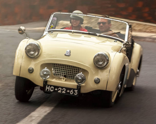 Best time for Funchal Classic Car Exhibition in Madeira