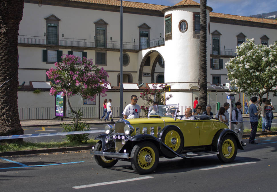 Funchal Classic Car Exhibition in Madeira - Best Season