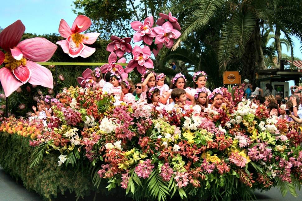 Best time for Madeira Flower Festival in Madeira