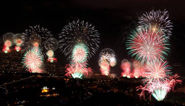 New Year's Fireworks in Madeira - Best Season