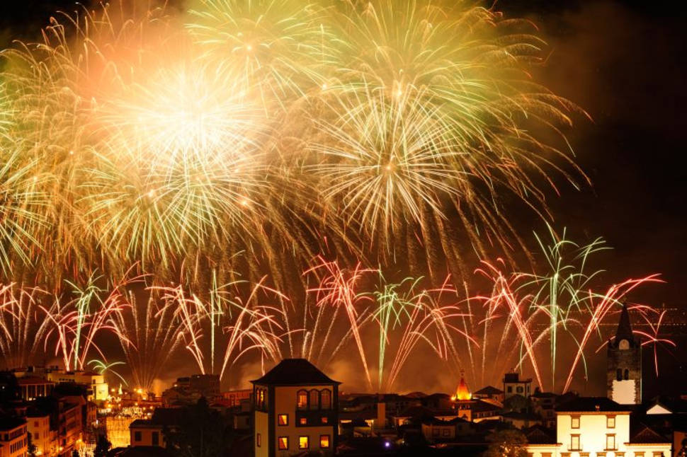 New Year's Fireworks in Madeira - Best Time