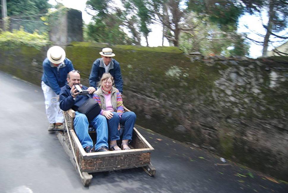 Toboggan Ride in Madeira - Best Season