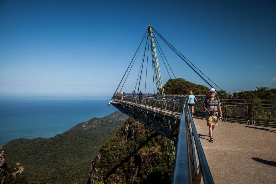 Best time to see Langkawi SkyBridge in Malaysia