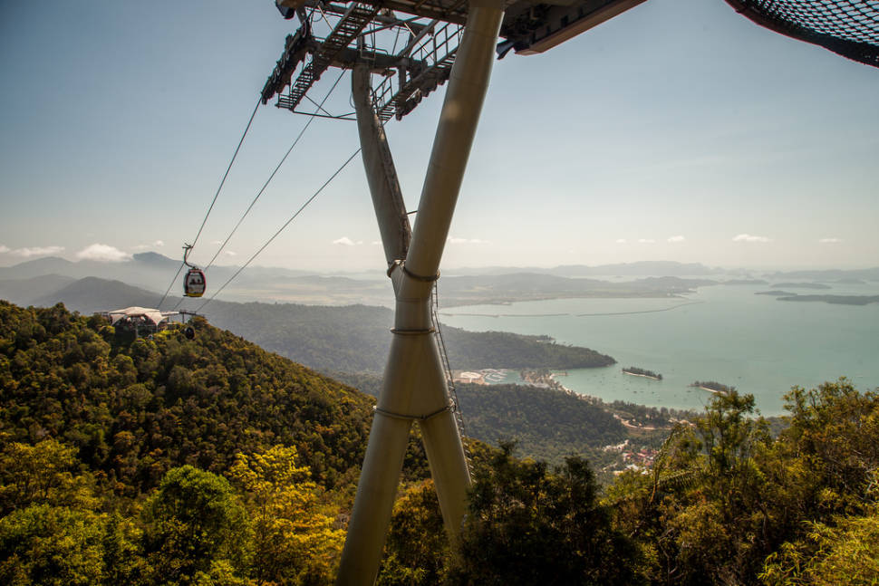Best time for Langkawi SkyBridge in Malaysia