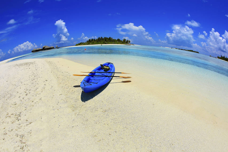 Kayaking  in Maldives - Best Season