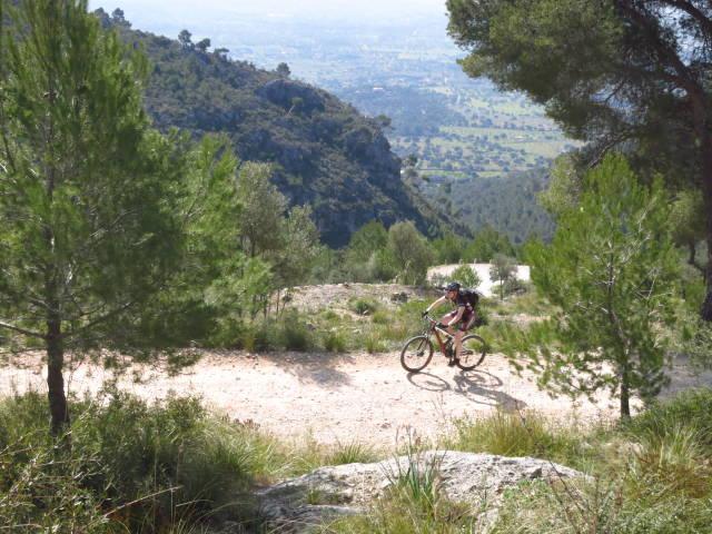 Best time for Mountain Biking in Mallorca