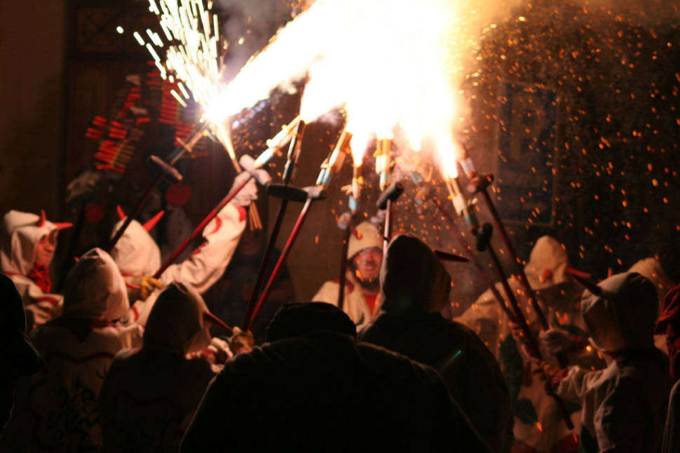 Nit de Foc (Fire Night)  in Mallorca - Best Season
