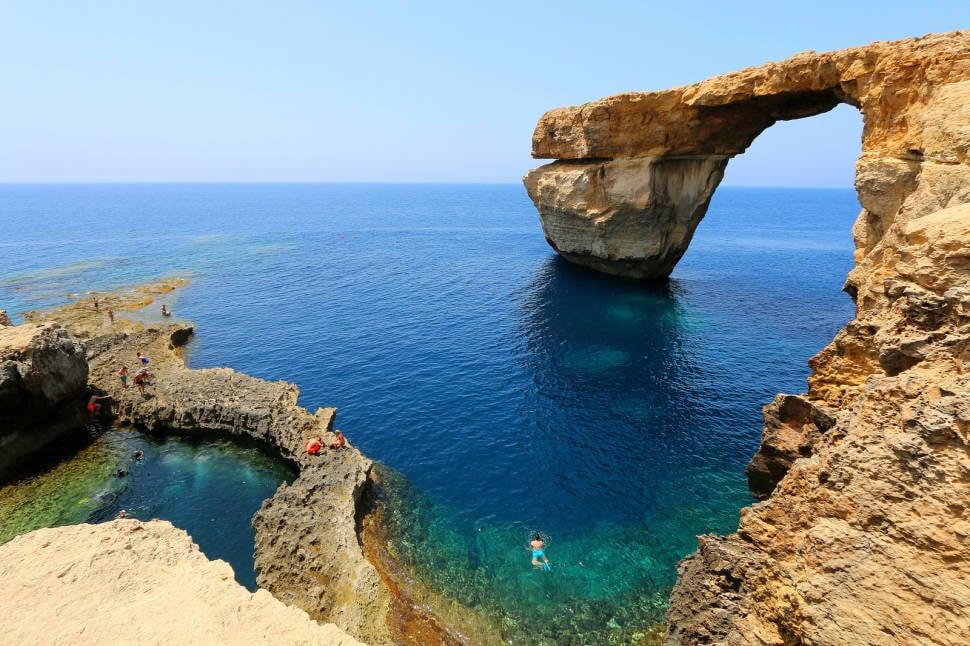 Azzure Window, Gozo, Malta