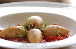Klamari Mimlija or Stuffed Squid