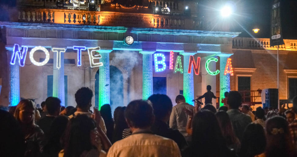 Best time for Notte Bianca