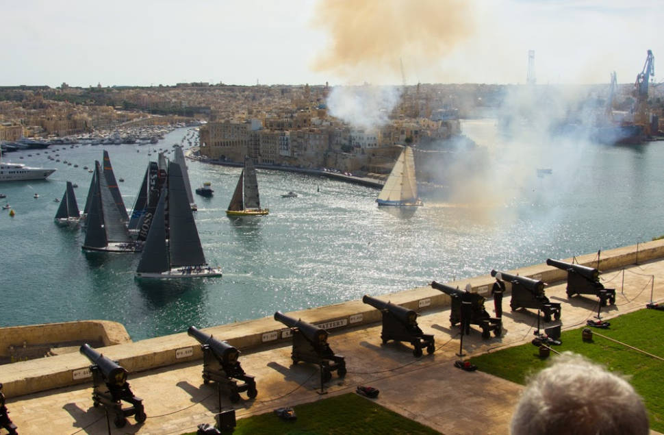 Best time to see Rolex Middle Sea Race in Malta