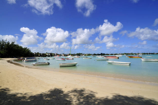 A famous bay located the North cap of Mauritius Island
