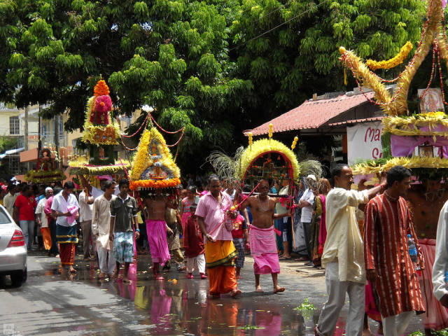 Best time to see Thaipoosam Cavadee in Mauritius