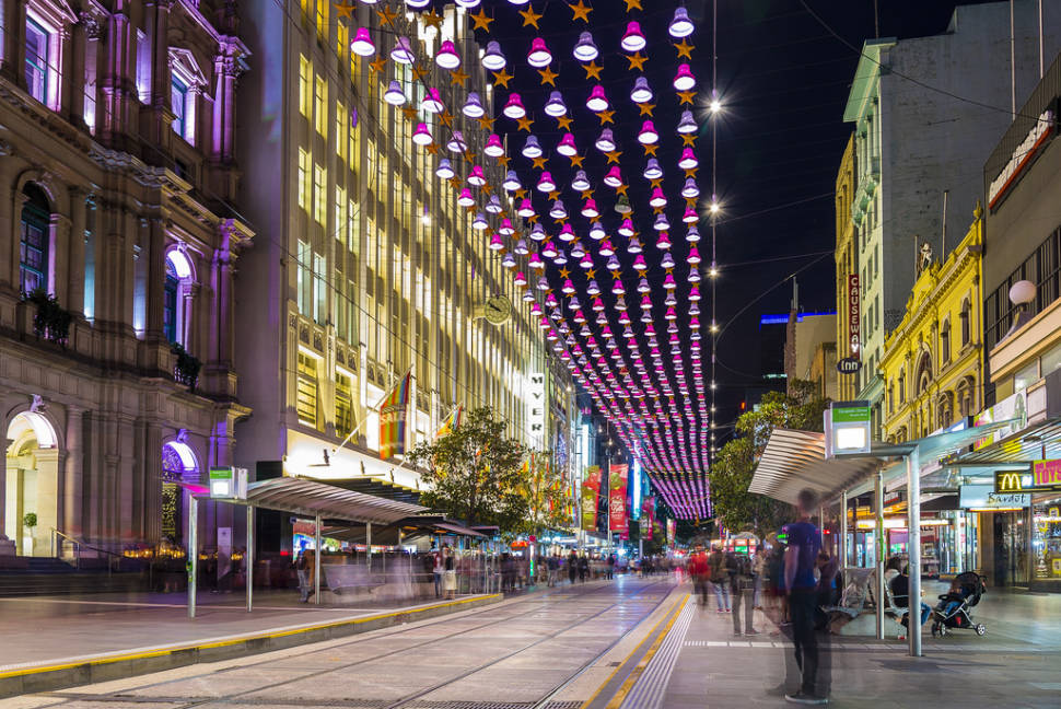 Best time for Christmas Season in Melbourne