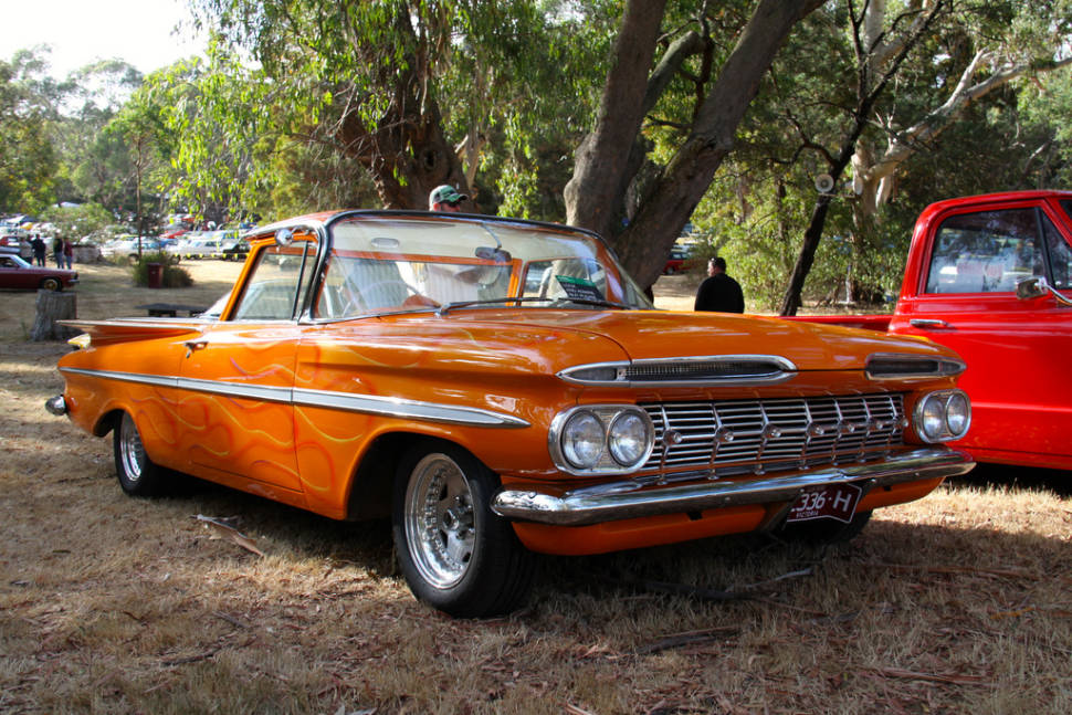 Best time to see Picnic at Hanging Rock Car Show in Melbourne