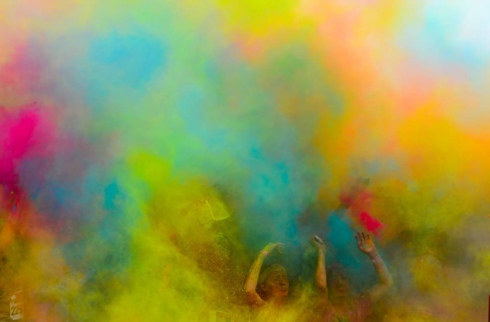 Best time for The Color Run