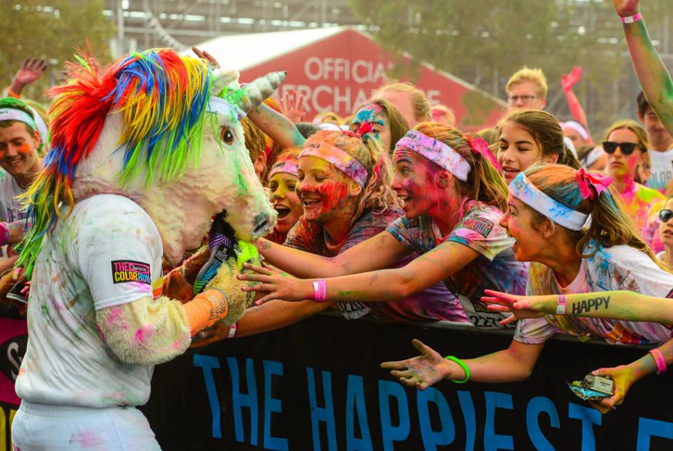 The Color Run in Melbourne - Best Season