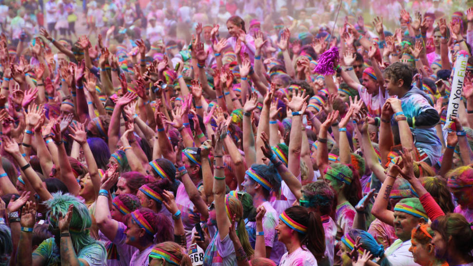 Best time for The Color Run in Melbourne