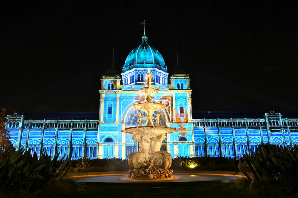 Best time to see White Night Melbourne in Melbourne