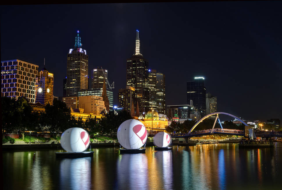 White Night Melbourne in Melbourne - Best Season