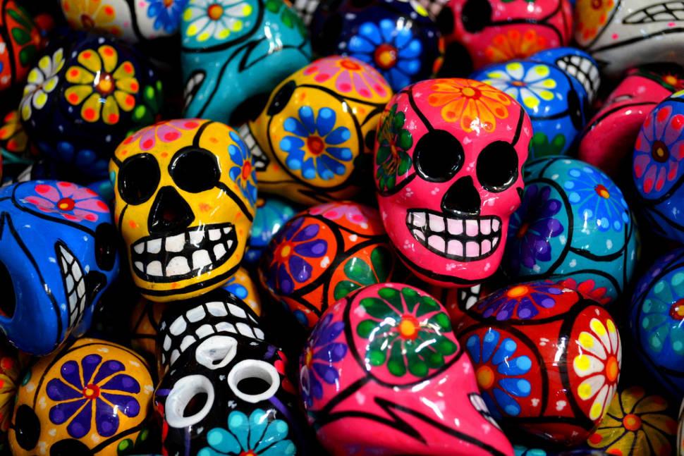 día de los muertos or day of the dead 2018 in mexico dates map