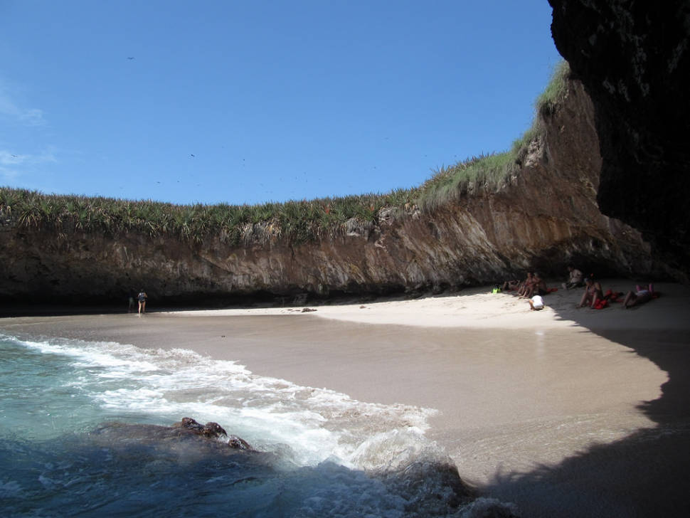 Best time for The Hidden Beach (Playa Del Amor) in Mexico