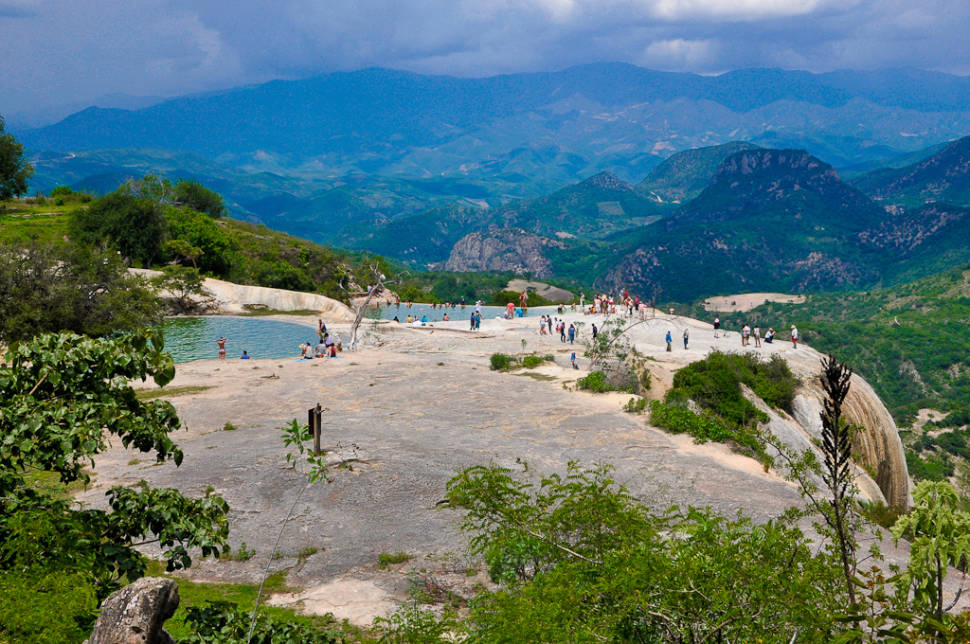 Hierve el Agua Waterfall in Mexico - Best Season