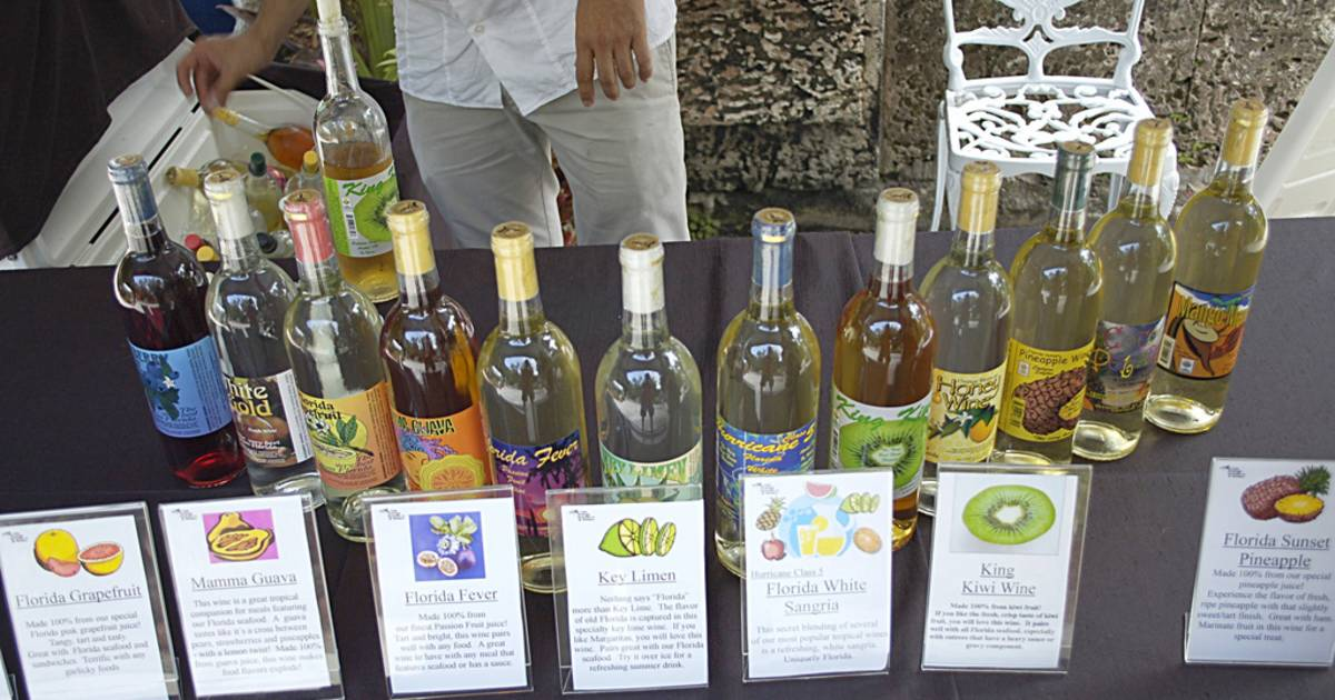 Fruit Wine in Miami - Best Time