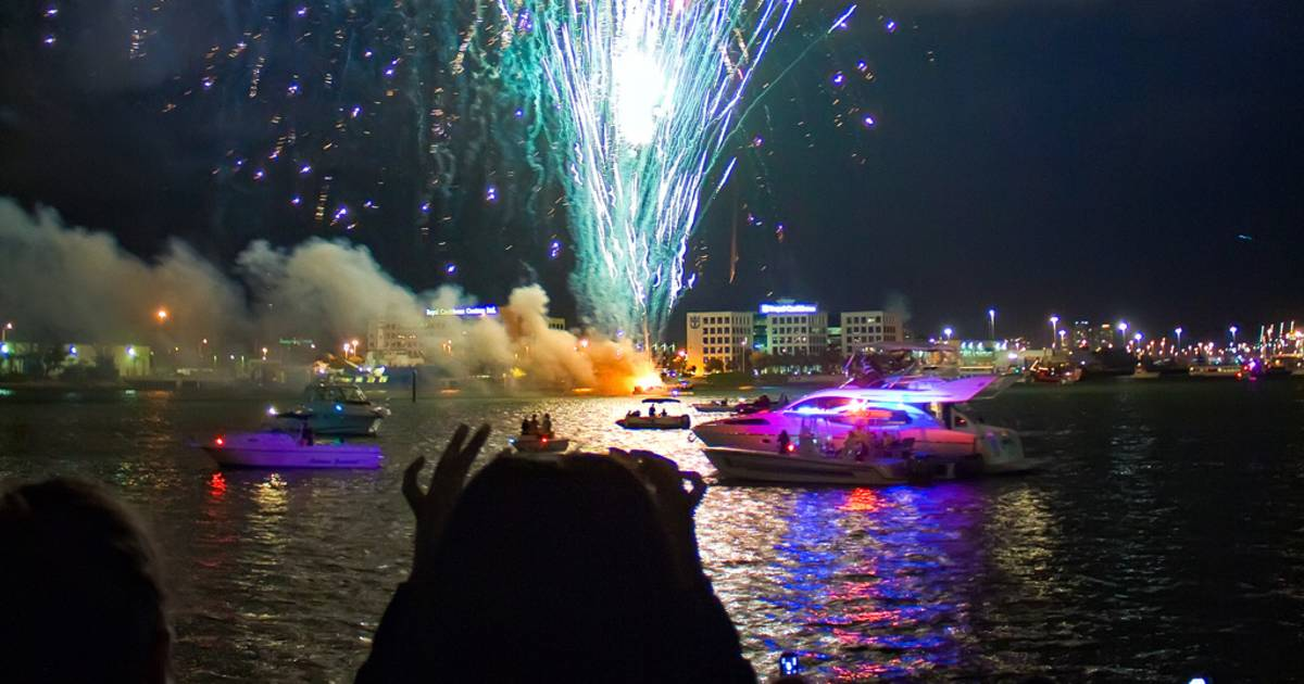New Year's Eve at Bayfront Park, Miami in Miami - Best Time