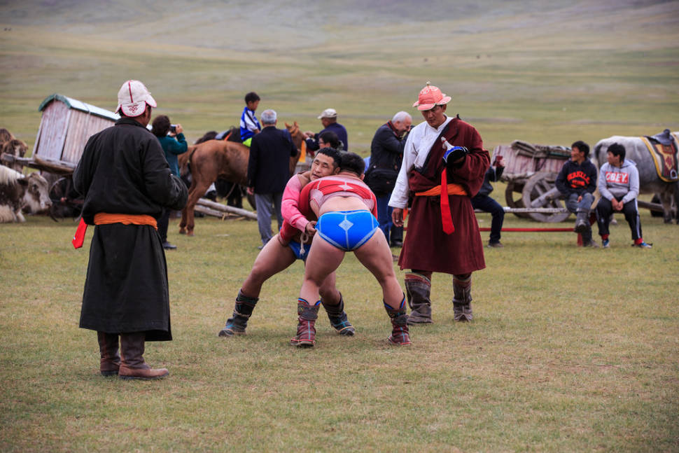 Bökh Wrestling in Mongolia - Best Season