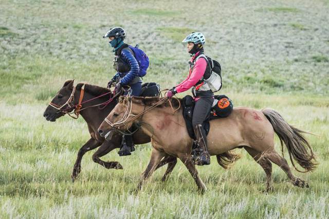 Best time for Mongol Derby in Mongolia