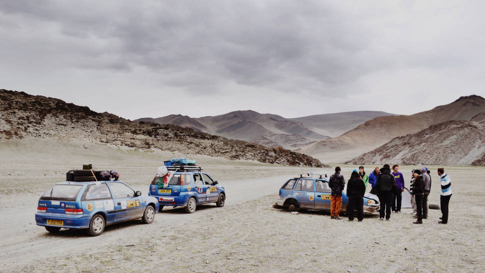 Best time to see Mongol Rally in Mongolia
